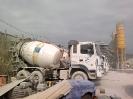 Trạm trộn bê tông lạnh công suất 120 m3/h và hệ thống thiết bị vận chuyển